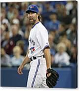 New York Mets V Toronto Blue Jays Canvas Print