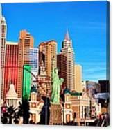 New York Nevada Canvas Print