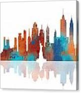 New York New York Skyline  Canvas Print