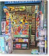 New York Newsstand Canvas Print