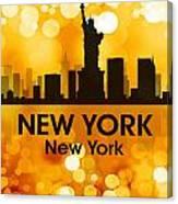 New York Ny 3 Canvas Print