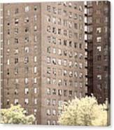 New York Public Housing Canvas Print