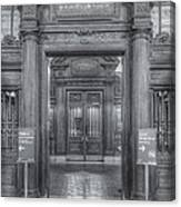 New York Public Library Main Reading Room Entrance II Canvas Print
