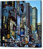 New York Rush Hour Canvas Print