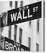 New York Signs Canvas Print