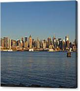 New York - Skyline Of New York Canvas Print