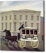 New York Stagecoach Canvas Print