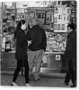 New York Street Photography 18 Canvas Print