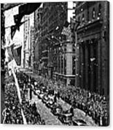New York Ticker Tape Parade Canvas Print