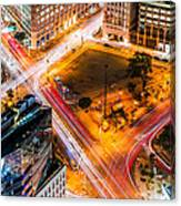 New York Traffic Canvas Print