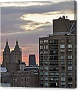 New York Twin Peaks West Side Canvas Print