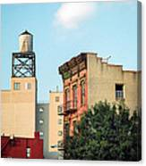 New York Water Tower 3 Canvas Print