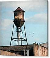 New York Water Tower 7 Canvas Print