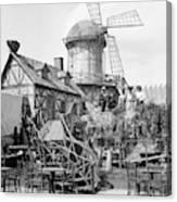 New York Windmill, C1905 Canvas Print