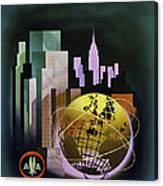 New York Worlds Fair Canvas Print