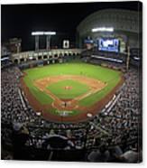 New York Yankees V Houston Astros Canvas Print