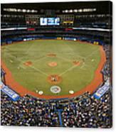 New York Yankees V. Toronto Blue Jays Canvas Print