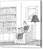 New Yorker April 11th, 1988 Canvas Print