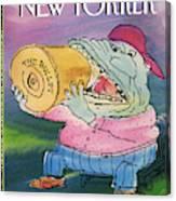 New Yorker April 19th, 1993 Canvas Print