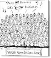 New Yorker April 21st, 1997 Canvas Print