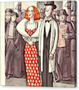 New Yorker April 24th, 1937 Canvas Print