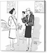 New Yorker April 29th, 1944 Canvas Print