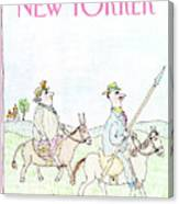 New Yorker April 29th, 1991 Canvas Print