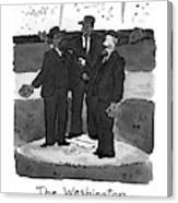 New Yorker April 5th, 1993 Canvas Print