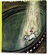 New Yorker April 7th 1962 Canvas Print