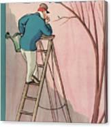 New Yorker April 9th, 1927 Canvas Print