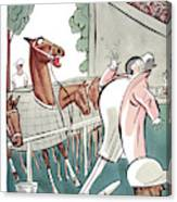 New Yorker August 11th, 1928 Canvas Print