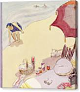 New Yorker August 14th, 1937 Canvas Print