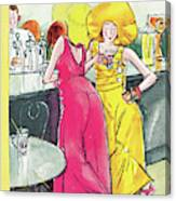 New Yorker August 26th, 1933 Canvas Print