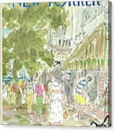 New Yorker August 26th, 1985 Canvas Print