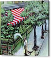 New Yorker August 27th, 1955 Canvas Print