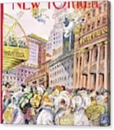 New Yorker December 13th, 1993 Canvas Print