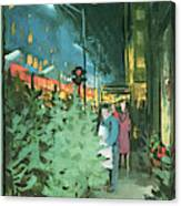 New Yorker December 14th, 1963 Canvas Print