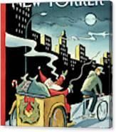 New Yorker December 15, 2008 Canvas Print