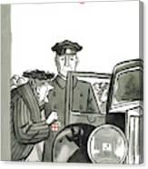 New Yorker December 20th, 1958 Canvas Print