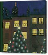 New Yorker December 24th, 1938 Canvas Print