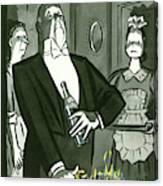 New Yorker December 25th, 1948 Canvas Print