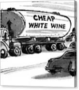 New Yorker December 25th, 1978 Canvas Print