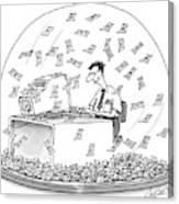New Yorker December 6th, 1999 Canvas Print