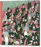 New Yorker December 7th, 1946 Canvas Print