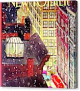 New Yorker December 7th, 1992 Canvas Print