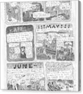 New Yorker December 7th, 1998 Canvas Print