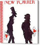 New Yorker February 15th, 1988 Canvas Print