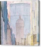New Yorker February 16th, 1963 Canvas Print