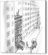 New Yorker February 17th, 1940 Canvas Print