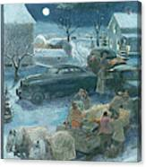 New Yorker February 19th, 1949 Canvas Print